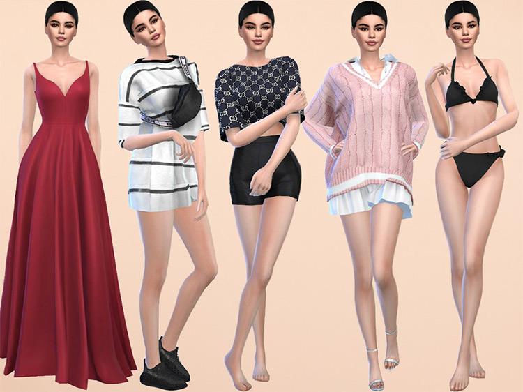 Selena Gomez CAS Build for The Sims 4