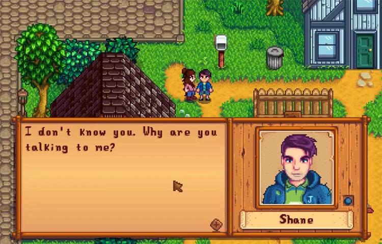 Shane in Stardew Valley Screenshot
