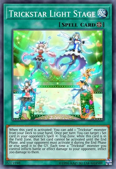 Trickstar Light Stage Yu-Gi-Oh Card