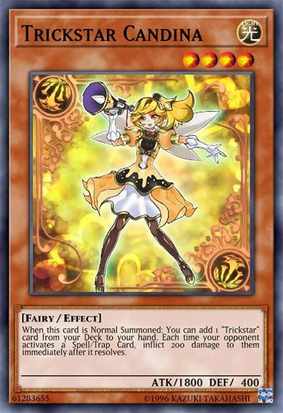 Trickstar Candina YGO Card