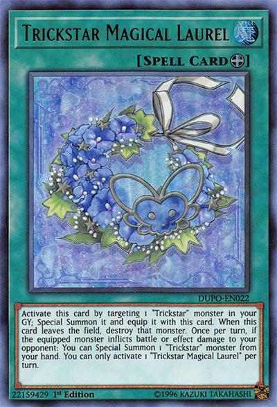 Trickstar Magical Laurel Yu-Gi-Oh Card
