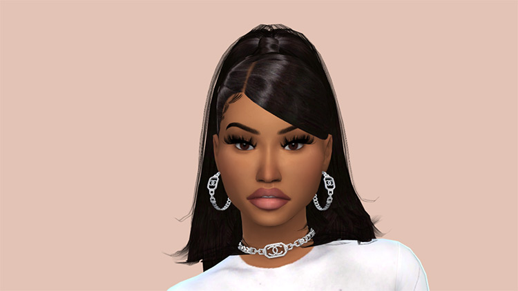 Nicki Minaj CC Set for The Sims 4