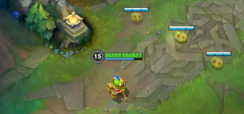 Teemo in League of Legends Screenshot