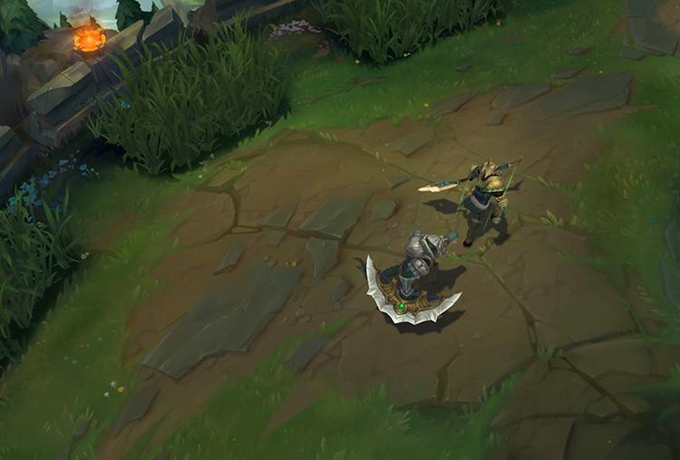 Nasus LoL gameplay screenshot