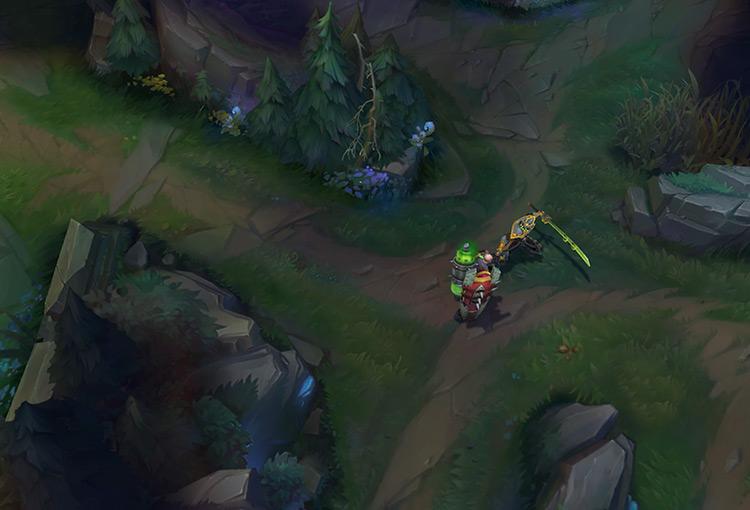 Master Yi LoL gameplay screenshot