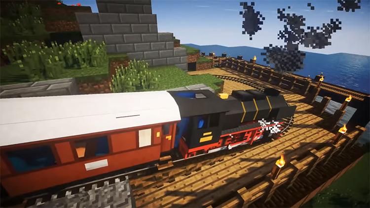 Traincraft Minecraft mod screenshot