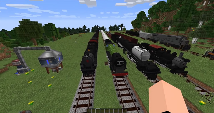 Immersive Railroading Minecraft mod