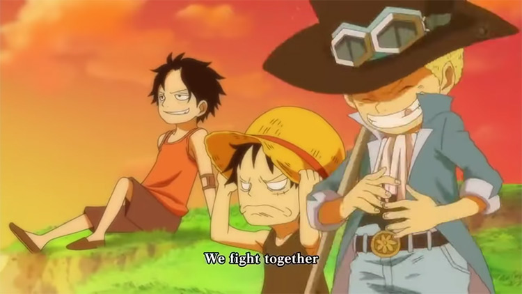 One Piece Opening Song Fight Together screenshot