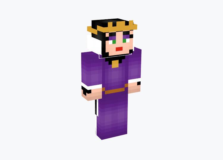 Evil Queen from Snow White / Minecraft Skin