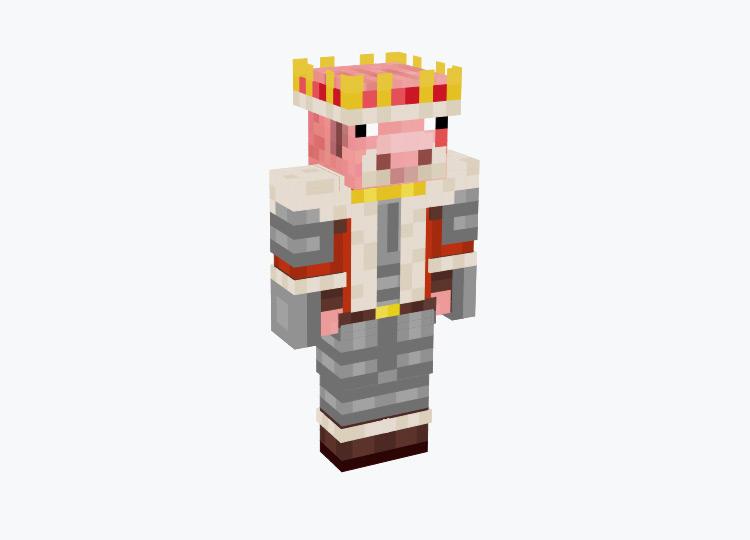 King Noah as a Pig / Minecraft Skin