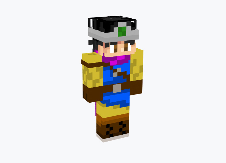 Male Wandering King Adventurer / Minecraft Skin