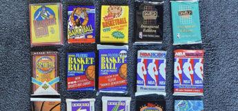 Unopened NBA Basketball Card Packs