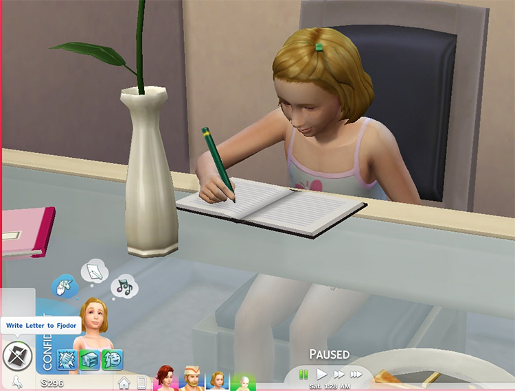 Notebook Mod / Sims 4 CC