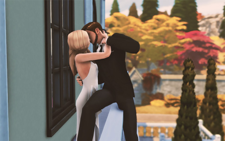 Romeo & Juliet Romantic Pose Set / Sims 4