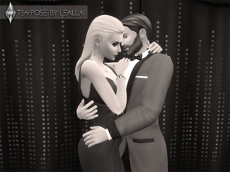 Romantic Hugs Poses for The Sims 4