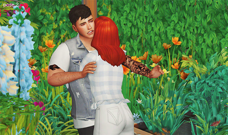 When I'm With You Pose Pack Pt. IV / Sims 4