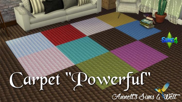 """Carpet """"Powerful"""" Color Schemes / TS4 CC"""
