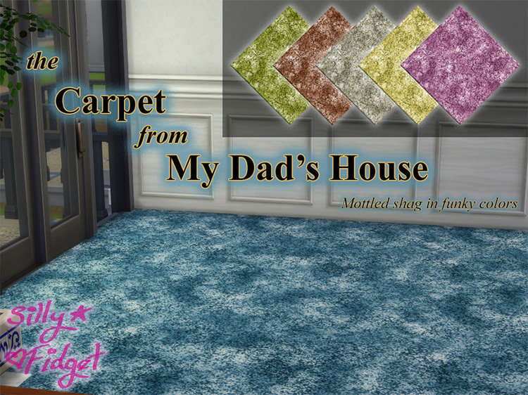 Dad's House Carpeting / TS4 CC