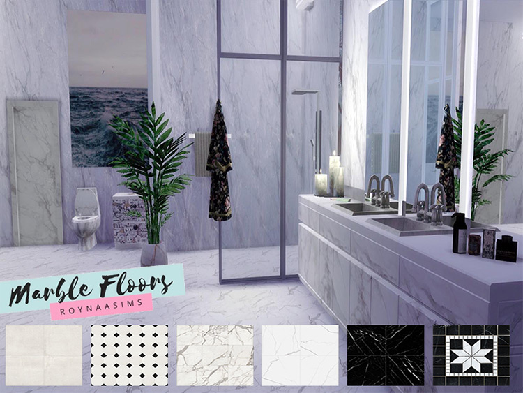 Marble Flooring for The Sims 4