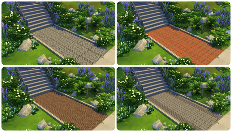 The Ultimate Masonry Flooring Collection / TS4 CC