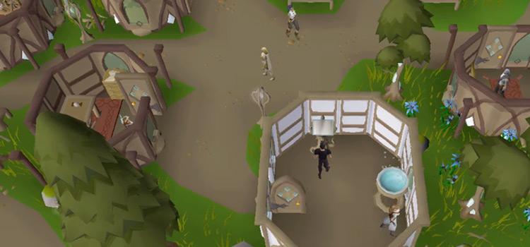 Prifddinas City Screenshot in Old School RuneScape