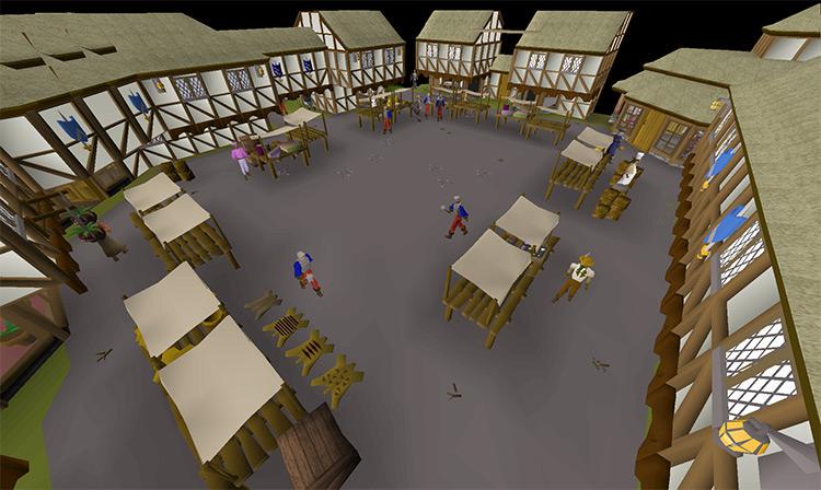 The City of Ardougne in OSRS screenshot