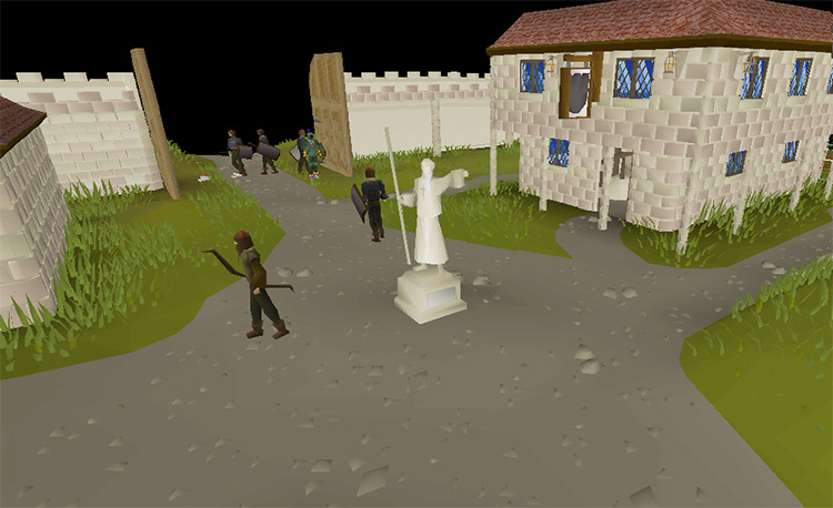 The City of Falador in OSRS screenshot