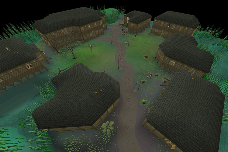 The City of Canifis in OSRS screenshot