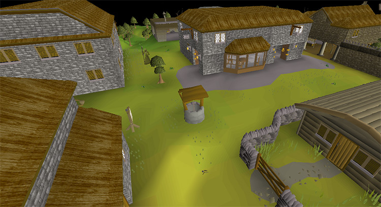 The City of Edgeville in OSRS screenshot