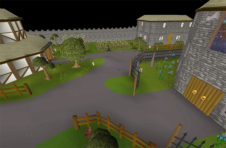 The City of Yanille in OSRS screenshot
