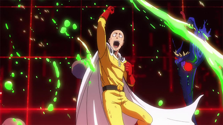 Saitama from One Punch Man Anime