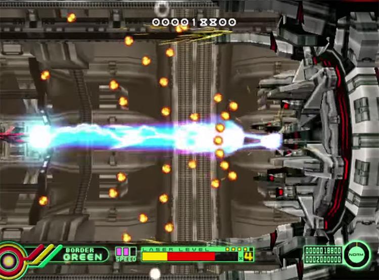 Border Down Sega Dreamcast gameplay