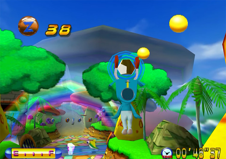 uper Magnetic Neo Sega Dreamcast gameplay
