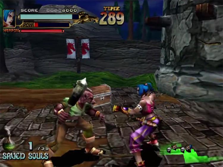 Soul Fighter Sega Dreamcast gameplay screenshot