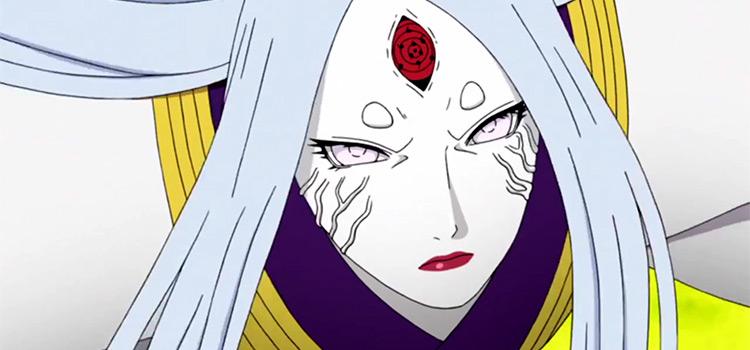 Kaguya from Naruto Anime (Close-up)