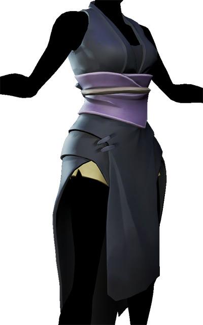 Sea of Thieves Assassin's Split Dress