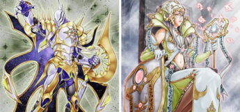 Constellar Pleiades and Empress of Prophecy YGO Cards