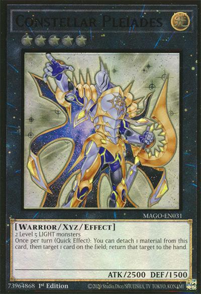 Constellar Pleiades Yu-Gi-Oh! Card