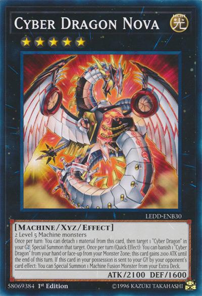 Cyber Dragon Nova Yu-Gi-Oh! Card
