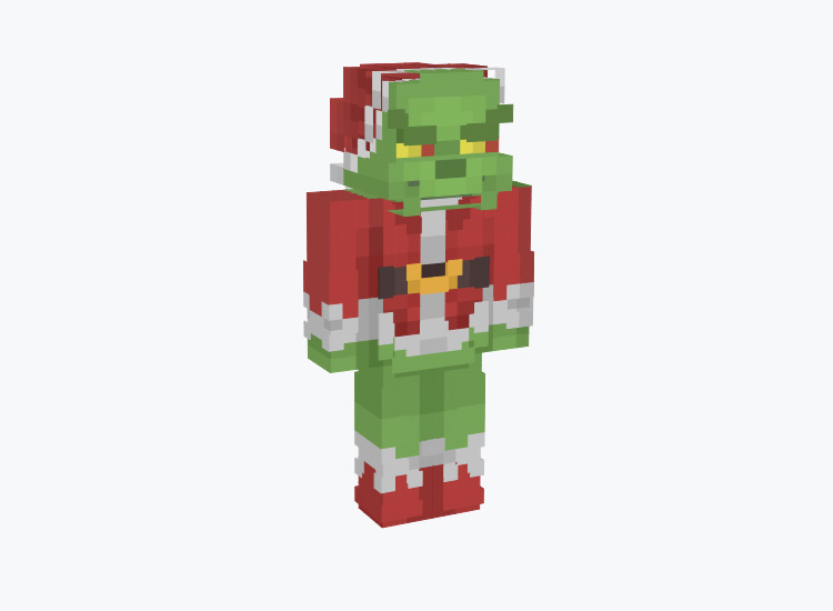 The Grinch From Whoville / Minecraft Skin