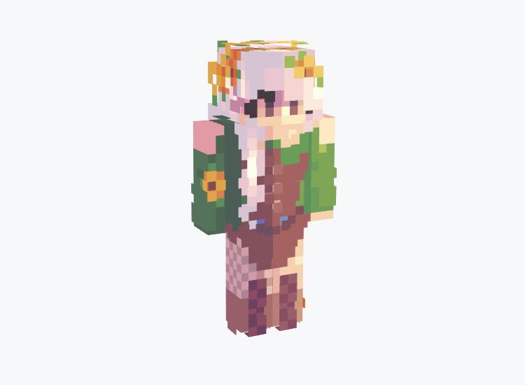 Detailed Woodland Elf / Minecraft Skin