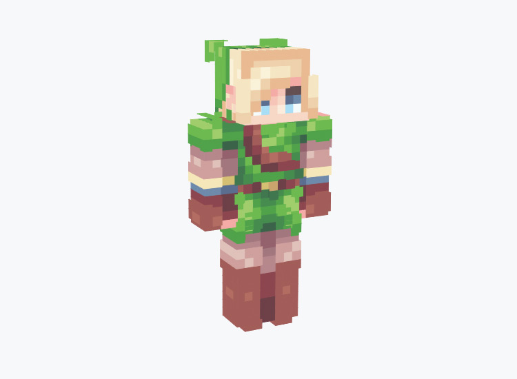 Modern Link from LoZ Series / Minecraft Skin