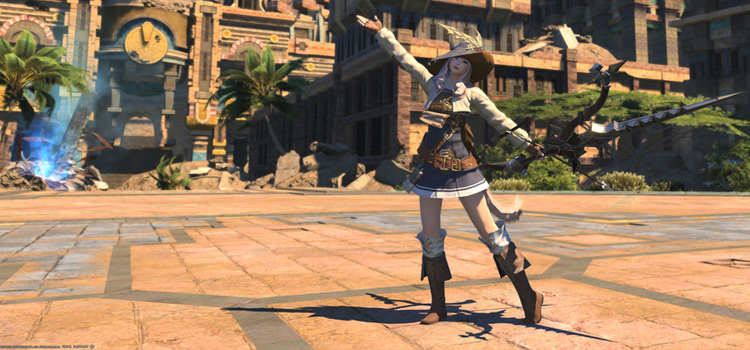 Ivalice-style Archer Glam in Final Fantasy XIV