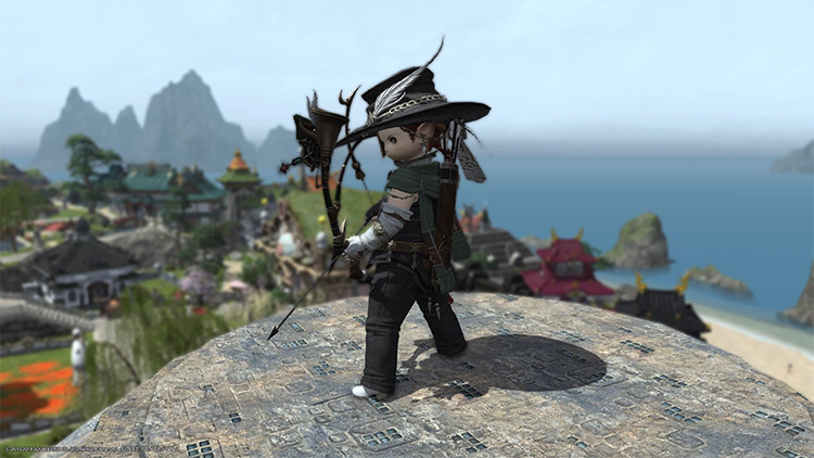 Bard Character AF Gear in FFXIV