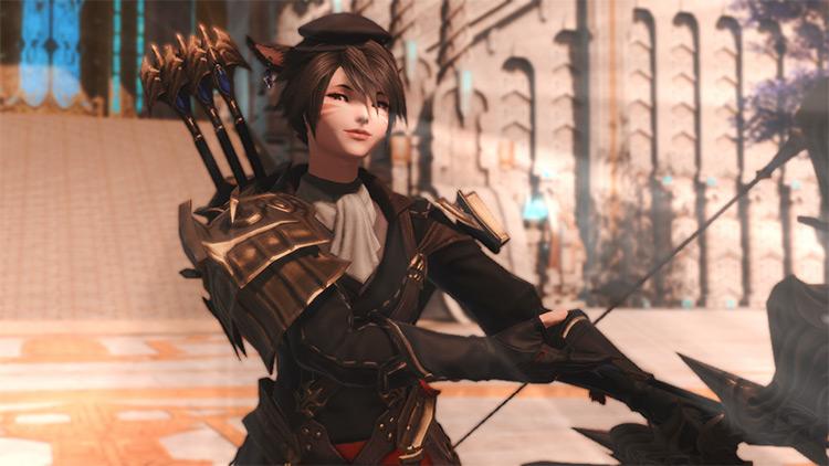 Dark Sky Pirate Archer Glamour in FFXIV