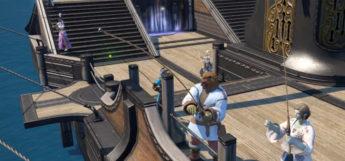 Boat Fishing Quest in Final Fantasy XIV