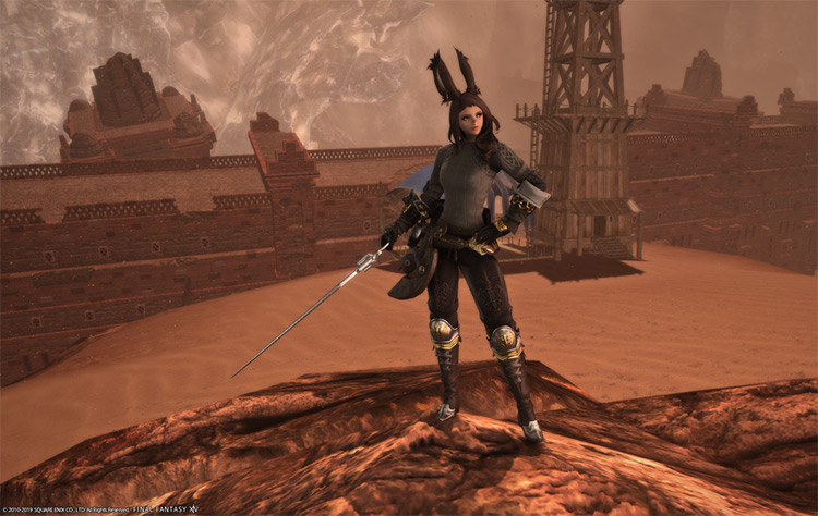 Vierra Mercenary Gunbreaker Glamour in Final Fantasy XIV