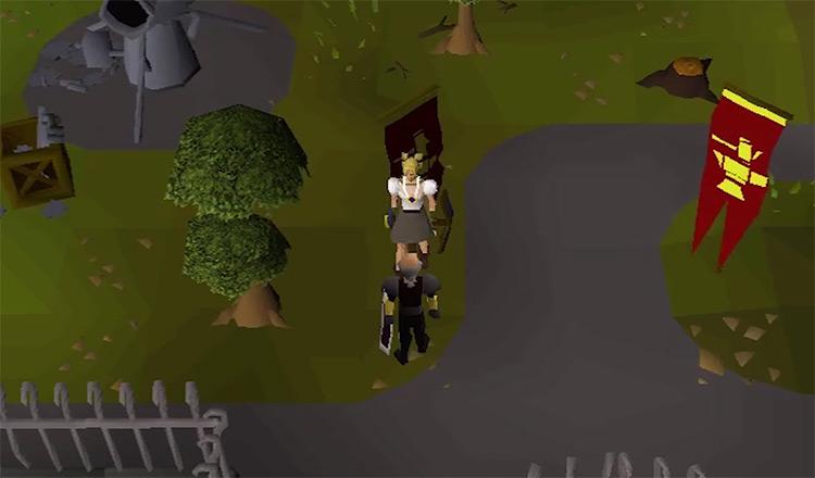 OSRS Dwarf Cannon Quest gameplay screenshot