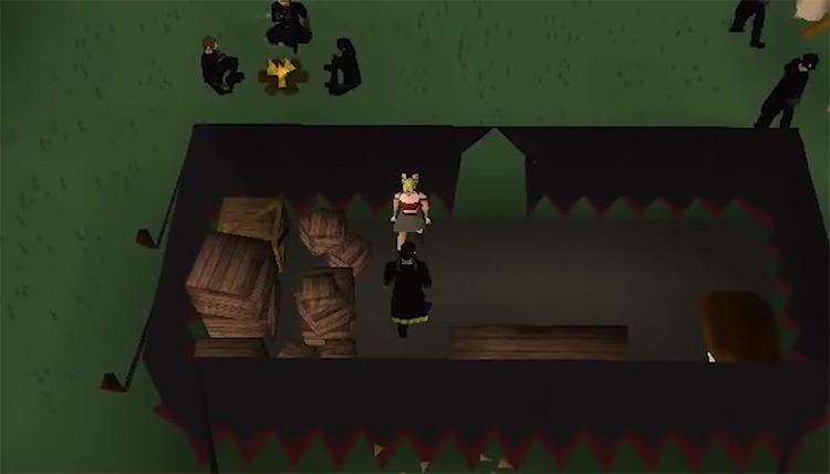 OSRS Death Plateau Quest gameplay screenshot
