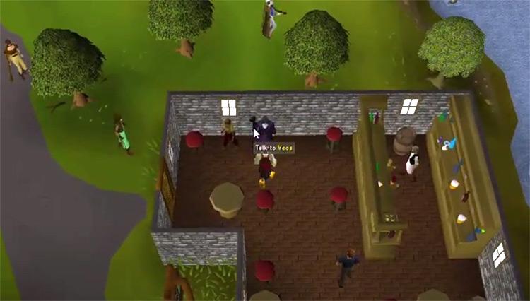 OSRS X Marks the Spot Quest gameplay screenshot